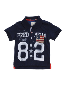 Nieuw Fred Mello Poloshirt & T-shirt  (86/92) + (98/104) + (104/110)