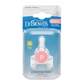 Nieuw Dr.Brown Prematuur  Speen  Standaard fles