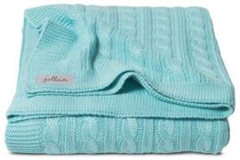 Ledikant deken - cable Jade