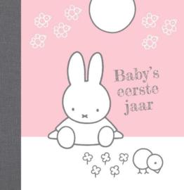 Nijntje Baby's Eerste Jaar Roze