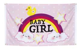 VERHUUR : Geboortevlag Baby Girl