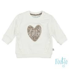 Feetje Panther perfect sweater offwhite