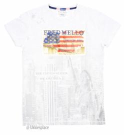 Nieuw Fred Mello T-shirt (98/104) + (104/110)