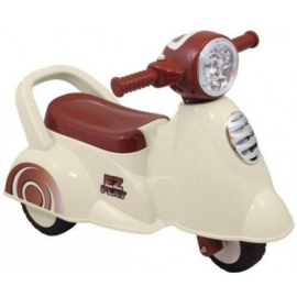 Eco Toys Retro White Loopscooter