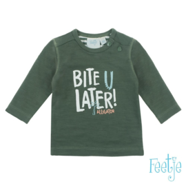 Feetje longsleeve army - Bite u later
