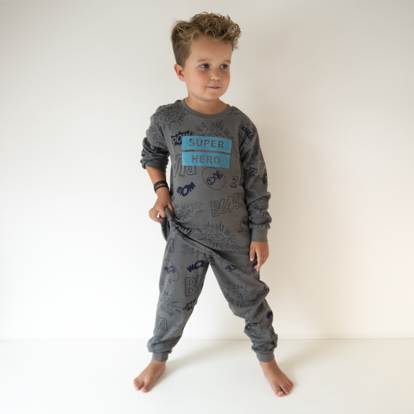 Frogs and Dogs Pyjama Super Hero