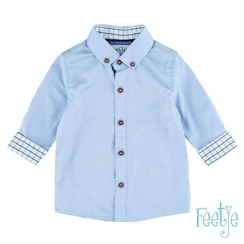 Feetje Overhemd classic boys blauw