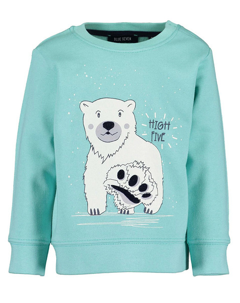 Blue Seven Sweatshirt HIGH FIVE in mint