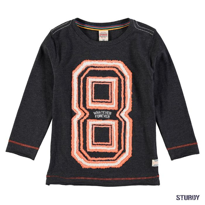 Sturdy Sweater Black Melange