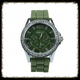 Horloge Ernest Stones Groen HE-09