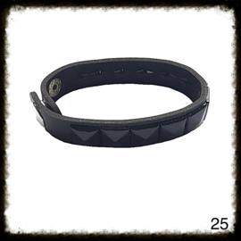 PU lederen armband - 25