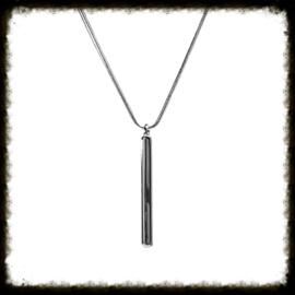 Zilveren ketting + hanger KZ-14