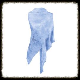 Sjaal Stars Studs Blauw