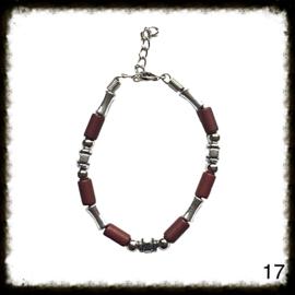 Kralen Armband verstelbaar - 17