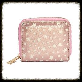 Portemonnee Stars Pink PST-03