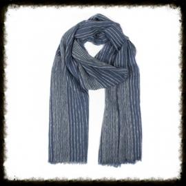 Sjaal Streep Jeans  KH-15