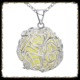 Ketting Glow in the Dark Groen