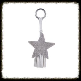 Sleutel/Tas Hanger  Zilver