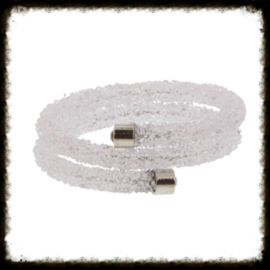 Double Crystal Bangle Wit