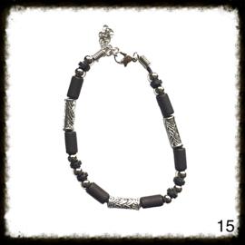 Kralen Armband verstelbaar - 15