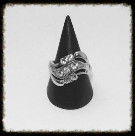 Metalen Ring - maat 19