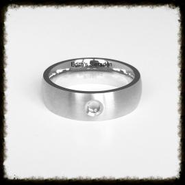 RVS ring voor verwisselbare tops - Maat 18