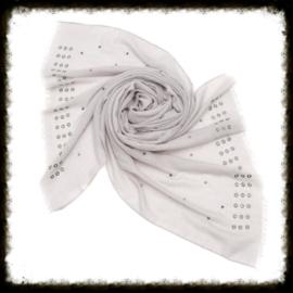 Sjaal Studs Grijs