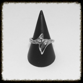 Metalen Ring - maat 17