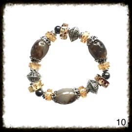 Kralen Armband Elastisch - 10