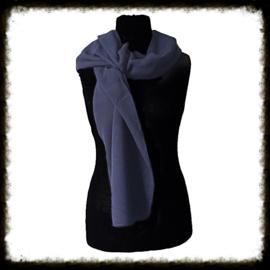 Fleece sjaal donkerblauw