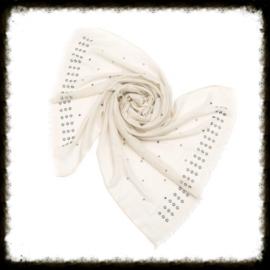 Sjaal Studs Beige