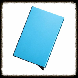 Aluminium Pasjeshouder - Blauw