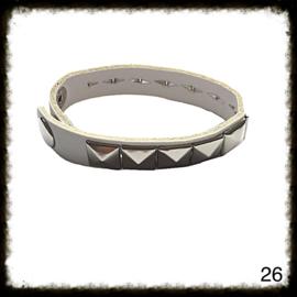 PU lederen armband - 26