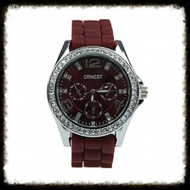 Horloge Ernest Stones Bordeaux HE-06
