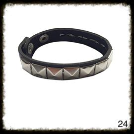 PU lederen armband - 24