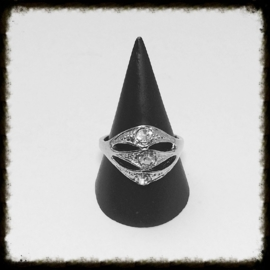 Metalen Ring - maat 16