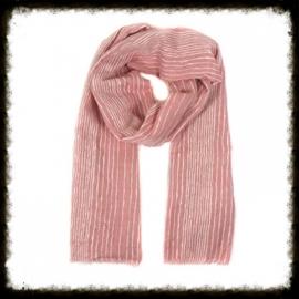 Sjaal Streep Pink  KH-14