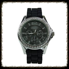 Horloge Ernest Stones Zwart  HE-01