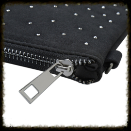 Schoudertas/Clutch Stylish Studs Zwart