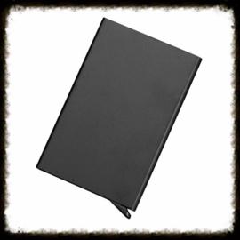 Aluminium Pasjeshouder - Zwart