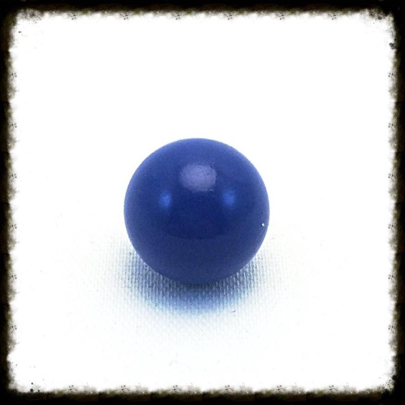 Klankbol blauw 16 mm