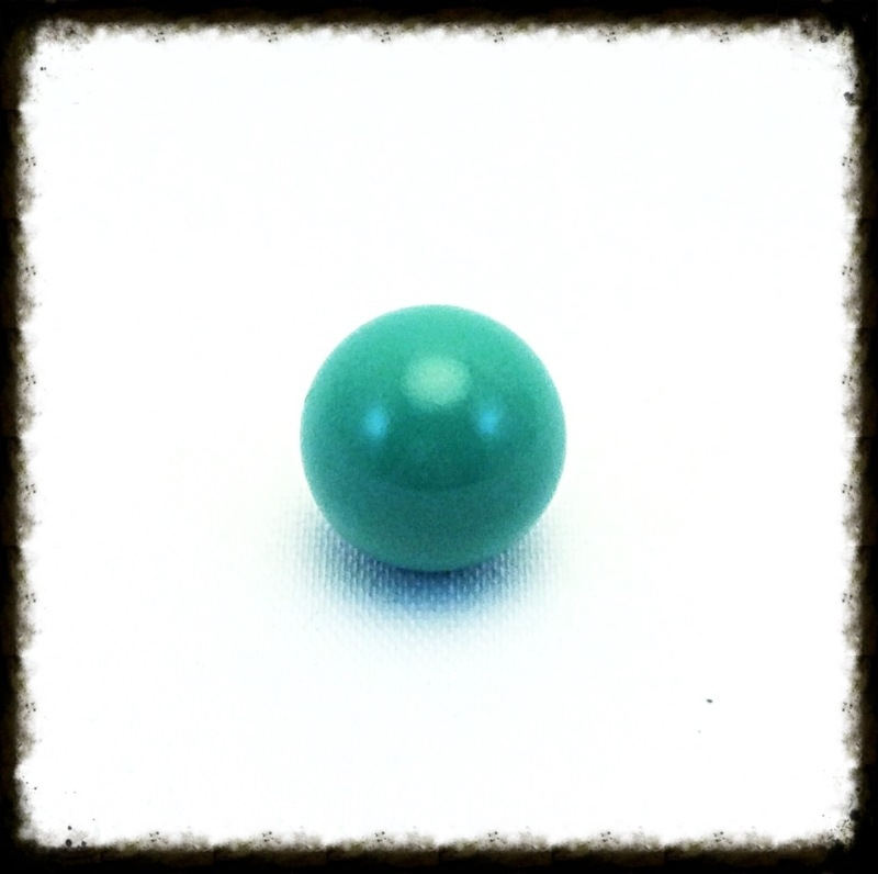 Klankbol mintgroen 16 mm