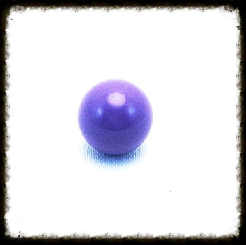 Klankbol paars 16 mm