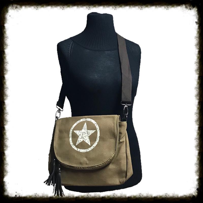 Crossbody Bag Star Brown