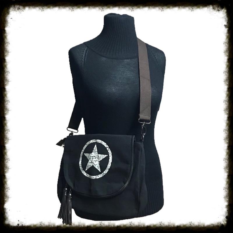 Crossbody Bag Star Black