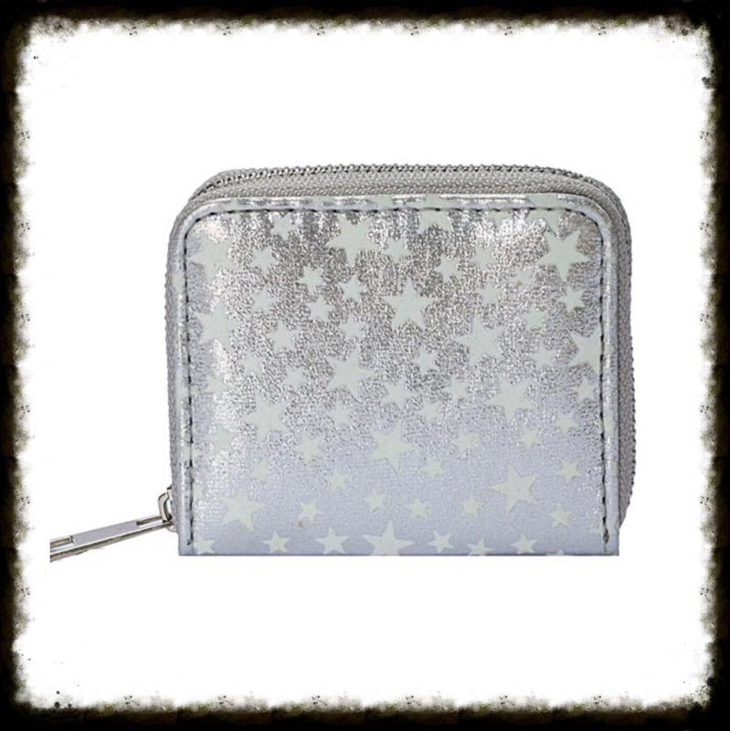 Portemonnee Stars Silver PST-01