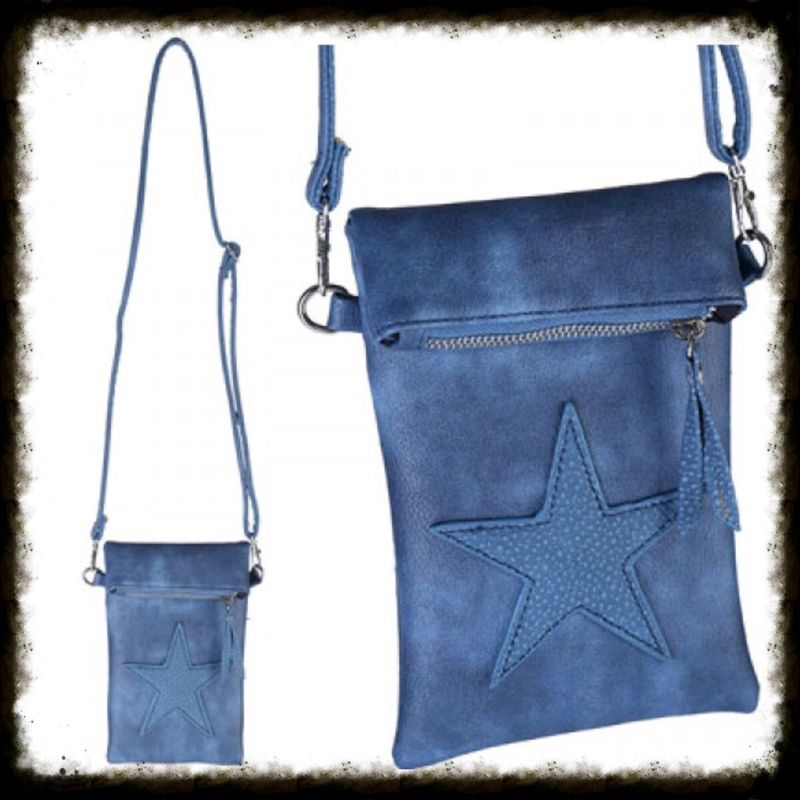 Star Flip Top Bag Blauw