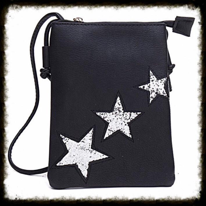 Heuptas  Three Stars Zwart