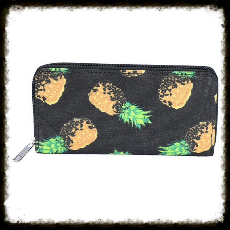 Portemonnee Pineapple Black PP-06