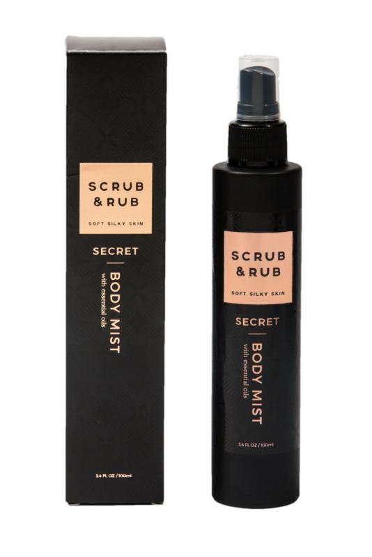 Scrub & Rub Secret Fragrance Body Mist